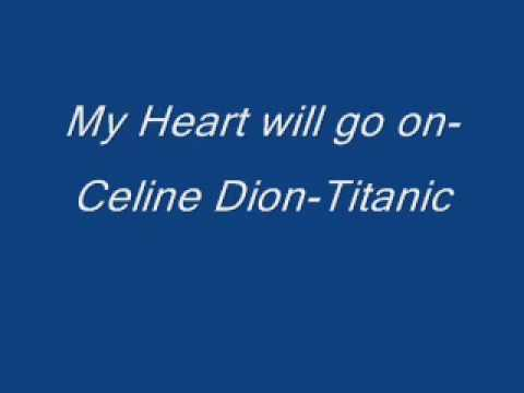 Celine Dion - My Heart will go on - Titanic-Lyrics