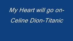 Celine Dion - My Heart will go on - Titanic-Lyrics