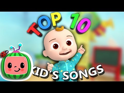 Top 10 Popular Kids Songs + More Nursery Rhymes & Kids Songs