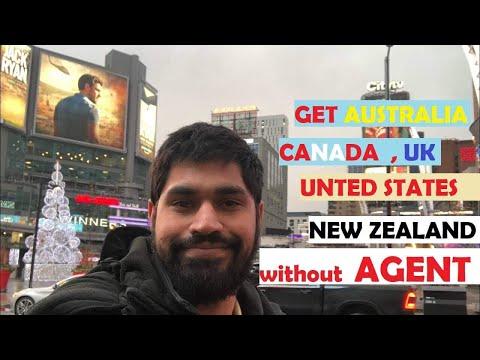 Get Australia,Canada,USA,New Zealand And UK Visa Without Agent