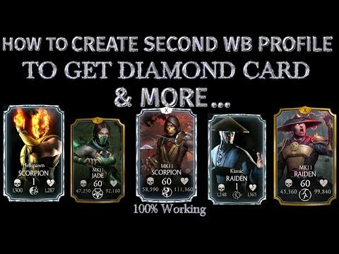 How To Create Multiple WB profile id to get Diamond Card  MK