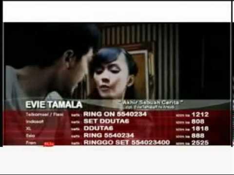 Evie Tamala   Akhir Sebuah Cerita Vidio Clip Lyrics
