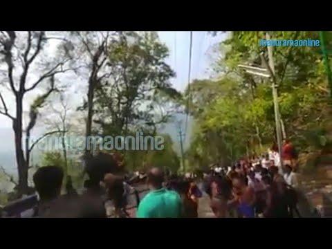 Elephant runs amok at Sabarimala temple | Manorama Online