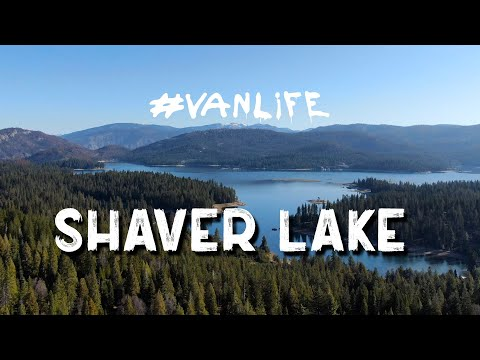 SHAVER LAKE - CRESSMAN'S - DINKEY CREEK DISBURSED CAMPING - SOLO MALE #VANLIFE #DJI #MAVIC2ZOOM