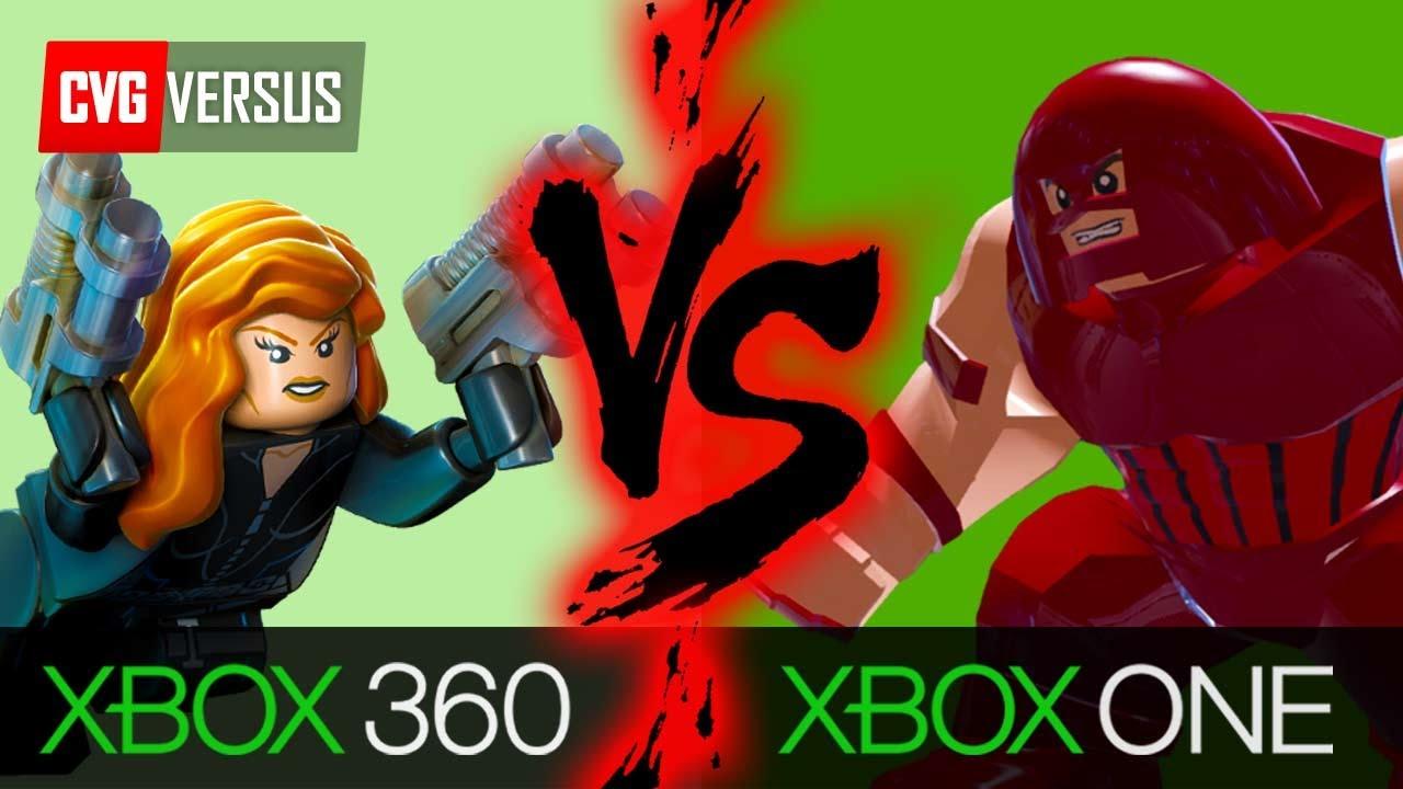 Lego Marvel Superheroes Xbox One Vs 360 Youtube
