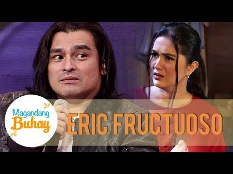 Download Eric admits that it's hard to have a scene with Beauty and Dimples | Magandang Buhay