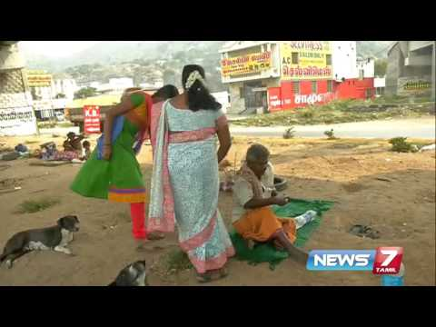 Food Bank provides food for beggers and orphans in Salem | News7 Tamil