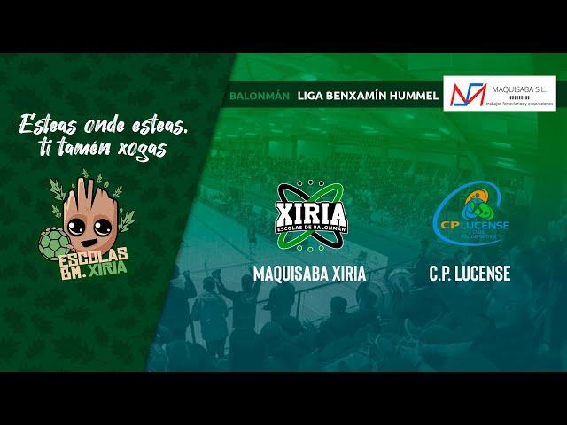 Maquisaba Xiria - CP Lucense [BENXAMÍN]