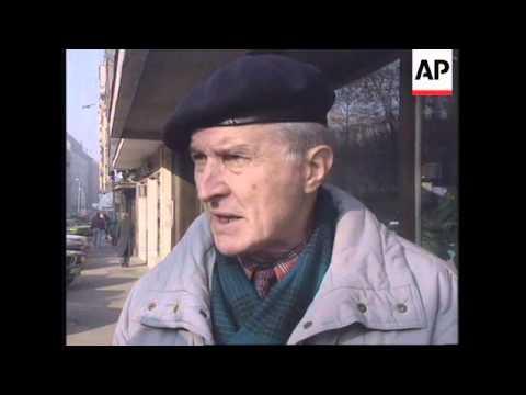FORMER YUGOSLAVIA: DINAR IS DEVALUED