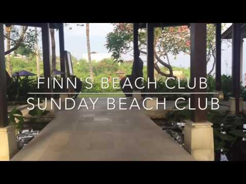 Finn's Beach Club Bali or Sunday Beach Club