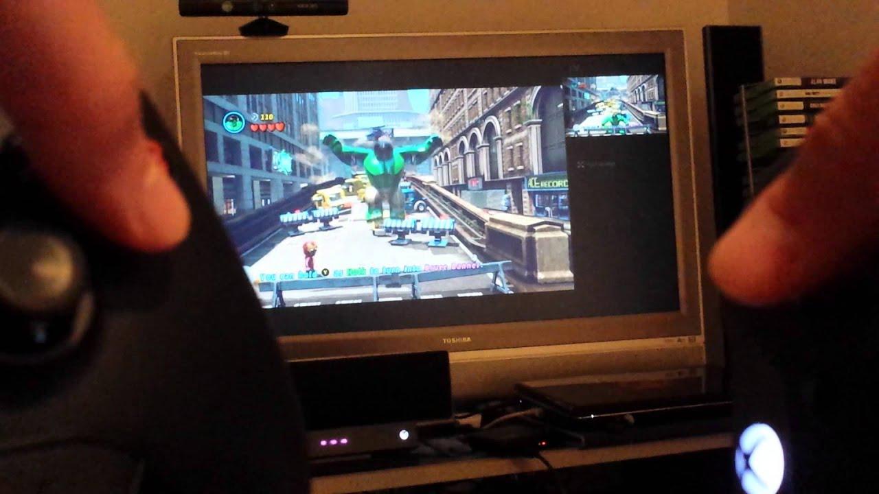 Xbox One HDMI passthrough lag demo