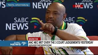 Fikile Bili on the 54th ANC National Conference