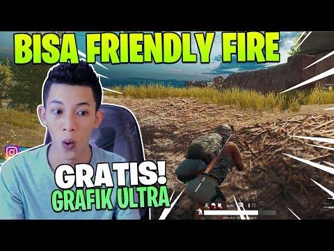 download GRATIS! GRAFIK ULTRA DAN BISA FRIENDLY FIRE! BURUAN COBAIN PUBG LITE!