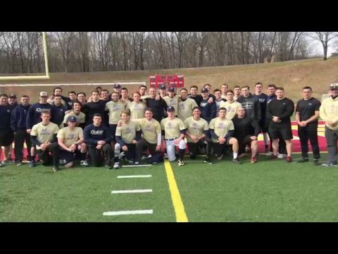 @GWBaseball1: Marine Base Quantico Workout