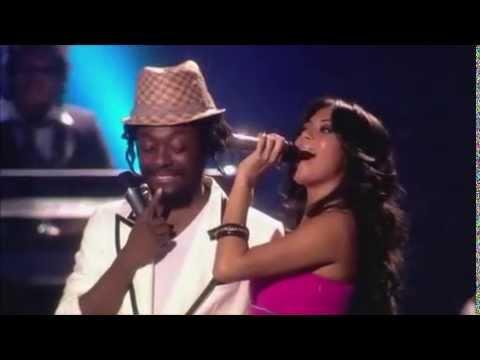 Nicole Scherzinger ft William  Ba Love  at The EMAs 2007