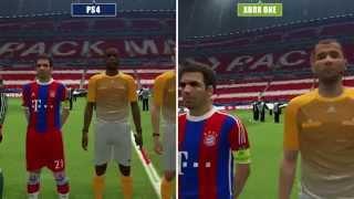 PES 2015 | PS4 vs. XBO vs. PS3