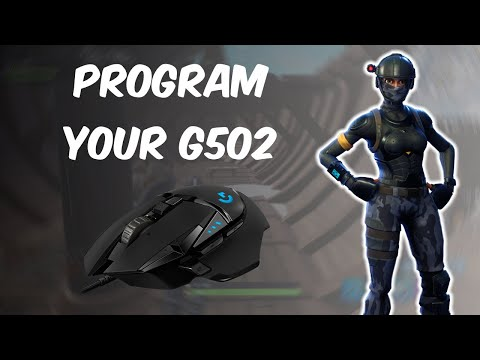 How To Program Logitech G502 (Fortnite)