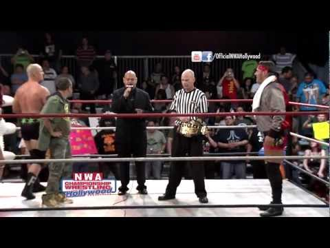 Colt Cabana Vs. Adam Pearce - First Blood Match - NWA Hollywood (HD) (6/10/12)