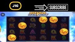 BUFFALO LIGHTNING SLOT BIG WIN ON 5€ BET 25 FREE SPINS 🐃 💶