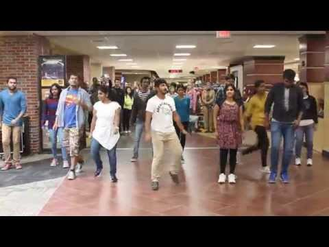 Wichita State University Flash-mob Fall 2015