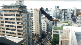 PARKOUR VS TOKYO POLICE 🇯🇵