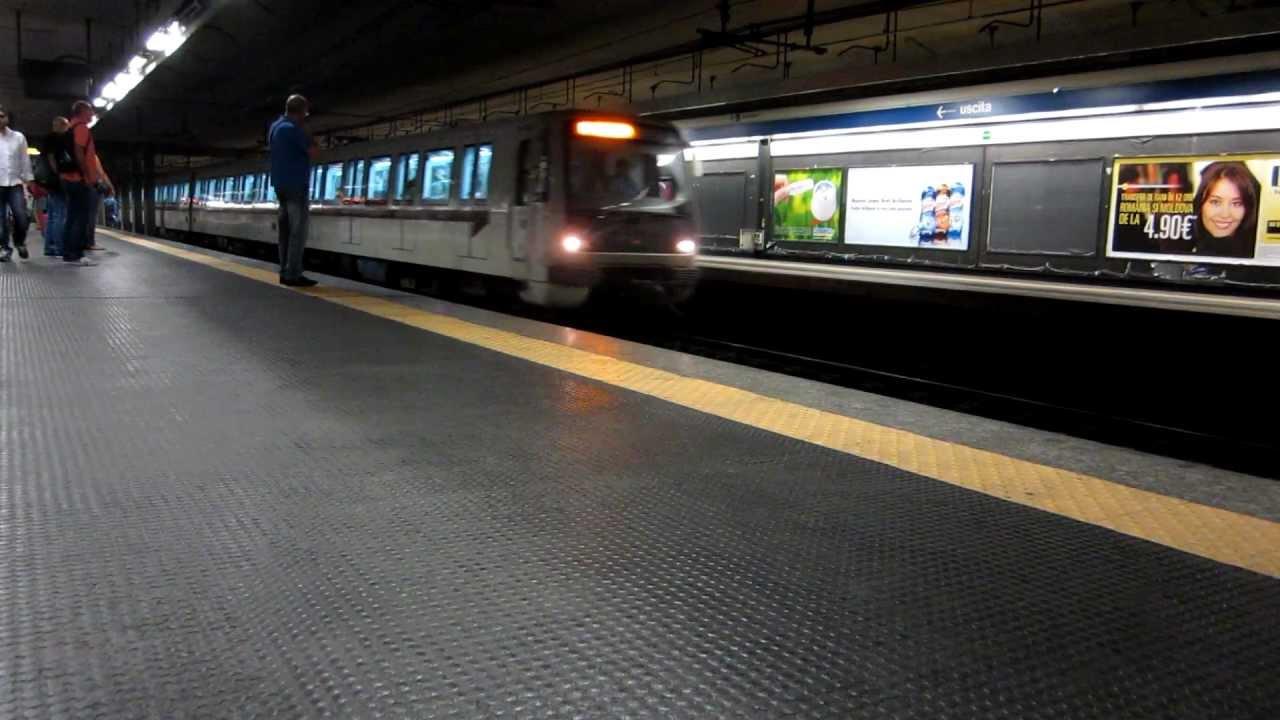 Metropolitana Roma Linea B Fermata Tiburtina Youtube