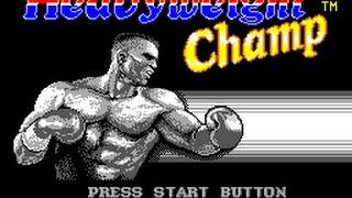 Master System Longplay [093] Heavyweight Champ