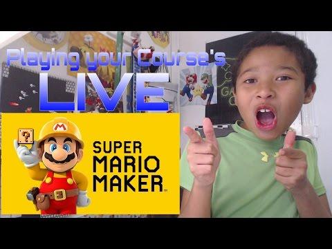 Super Mario Maker LIVE