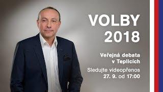 Diskuse v Teplicích | Komunální volby 2018