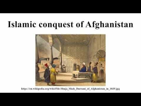 Islamic conquest of Afghanistan