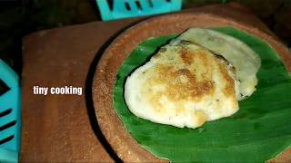 Butter non preparation| without oven |first time in tiny cooking kids kitchen