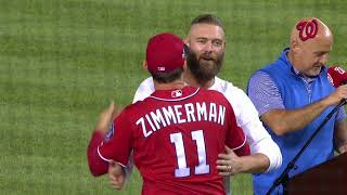 Jayson Werth inducted into Nationals Ring of Honor