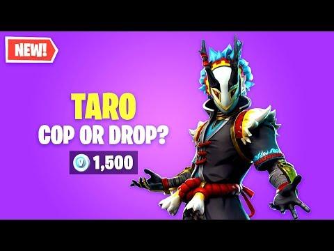 Fortnite TARO Skin Worth It? Cop Or Drop?