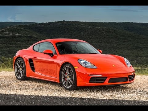 Porsche 718 Cayman S Manual - One Take