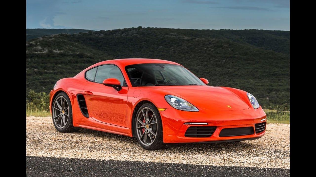 Porsche 718 Cayman S Manual - One Take - YouTube