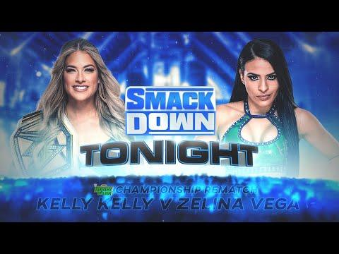 WWE 2K20 Universe Mode  - SDL - Kelly Kelly v Zelina Vega - MITB Global Women's Championship Rematch