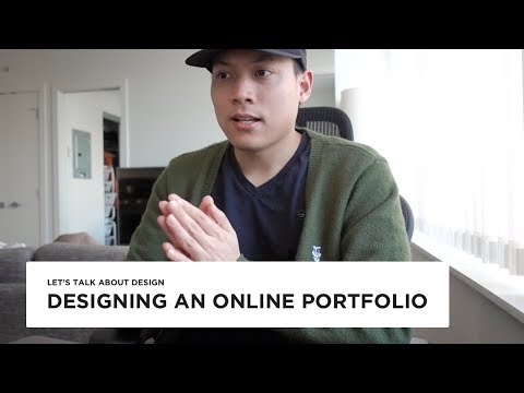 Online design portfolio Dos and Dont's - My portfolio walkthrough