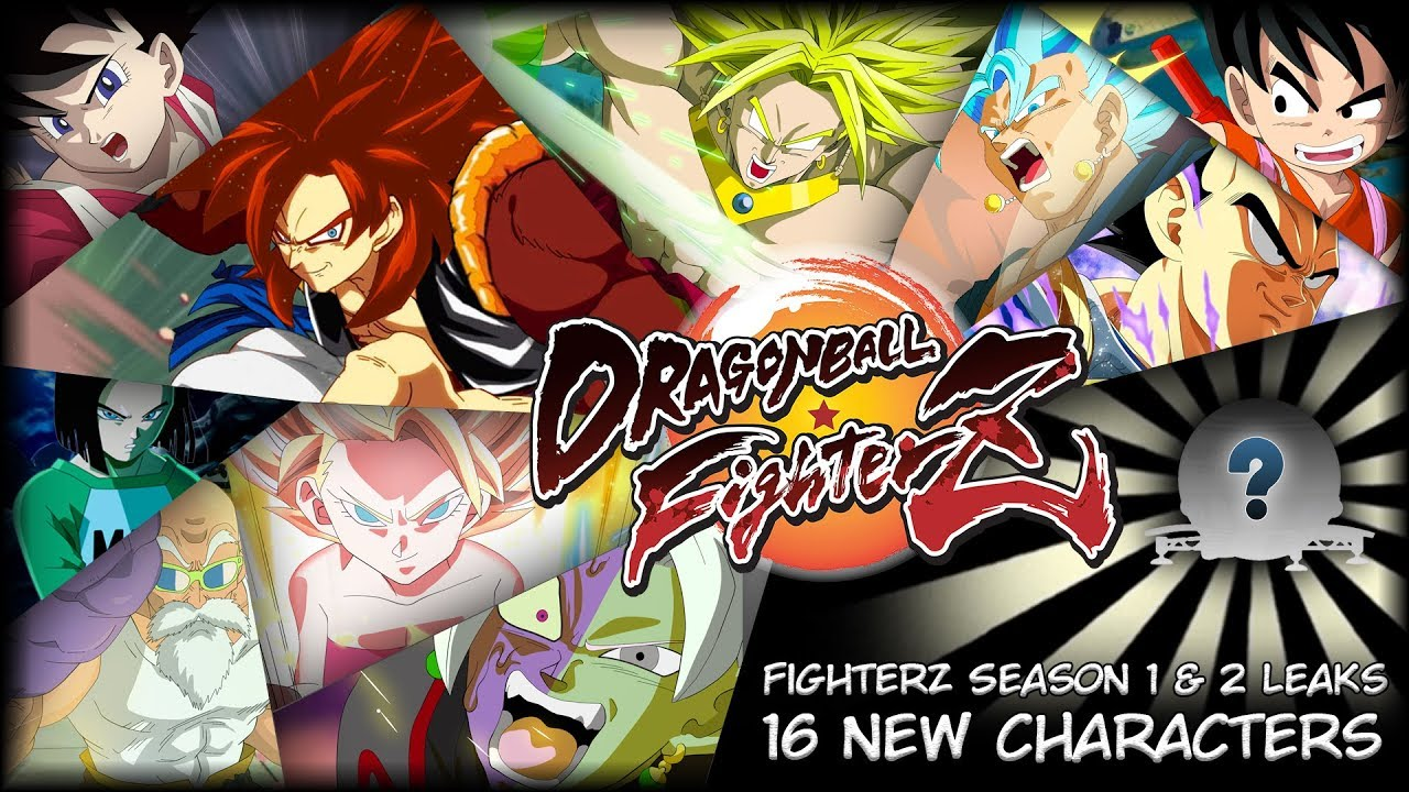 Dragon Ball FighterZ - DLC Characters Season 1 & 2 Leaks ...