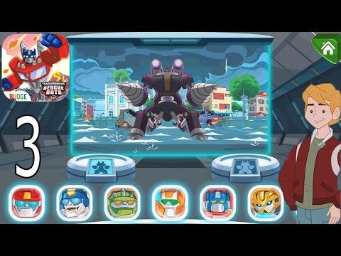 Transformers Rescue Bots: Disaster Dash Hero Run - IPhone Gameplay Walkthrough Part 3
