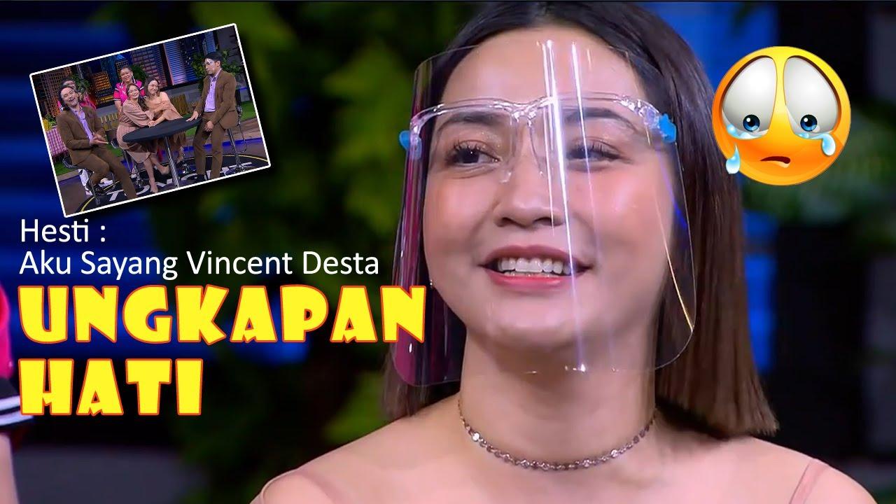 Ungkapan Hati Hesti di Tonight Show Net tv Kepada Vincent, Desta, dan Enzi  Mengharukan!!