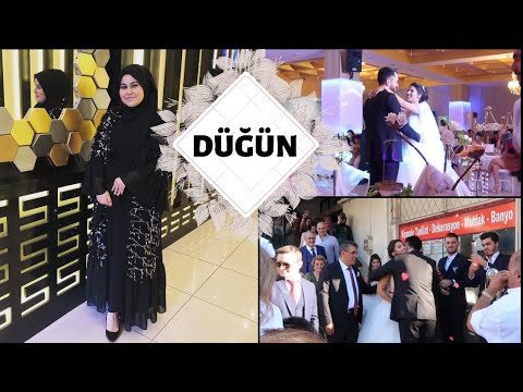 GİZEM-FARUK DÜĞÜN VLOGU | TURKISH WEDDİNG