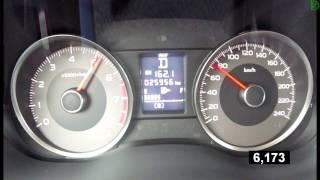 Subaru Forester 2.0  - 0-100 km/h