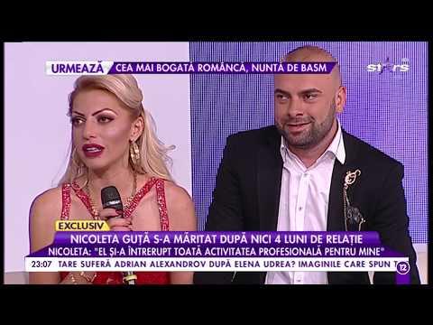 Nicoleta Guța s-a măritat după nici 4 luni de relație