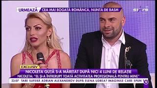Nicoleta Guta s-a maritat dupa nici 4 luni de relatie