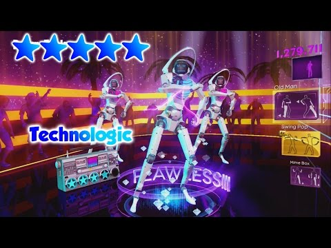 Dance Central 3 - Technologic (DC2 Import) - 5 Gold Stars