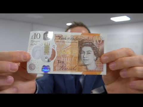 Jane Austen Polymer £10 Note
