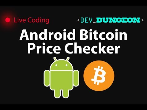 Live Coding: Android Bitcoin Price Checker (Java, Python, Kotlin)