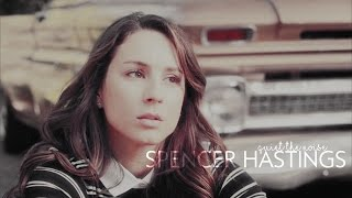 spencer hastings | quiet the noise