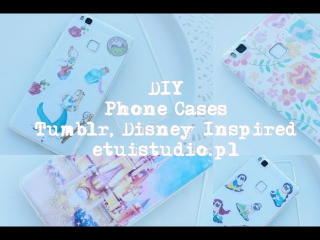 DIY Phone Cases ideas! Tumblr Inspired | EtuiStudio.pl