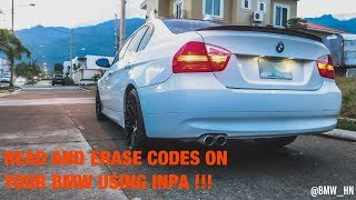 How To Read And Delete Fault Codes On Your BMW Using INPA